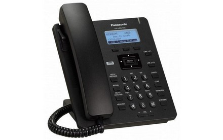 Panasonic - Basic SIP Phone - 3-line